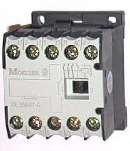 CONTATOR 3P 9A 1NF 24VDC DILEM-01-G(24VDC) EATON