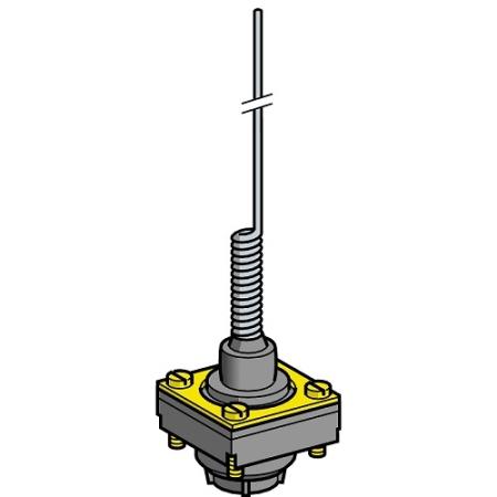 Eletriza - Eletriza Materiais Elétricos, Hidráulicos e Automação Industrial - CABECOTE FIM DE CURSO  HASTE FLEXIVEL ZCKD06 TELEMECANIQUE