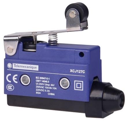 Eletriza - Eletriza Materiais Elétricos, Hidráulicos e Automação Industrial - FIM DE CURSO MINIATURA HASTE CURTA ROLD XCJ127 TELEMECANIQUE