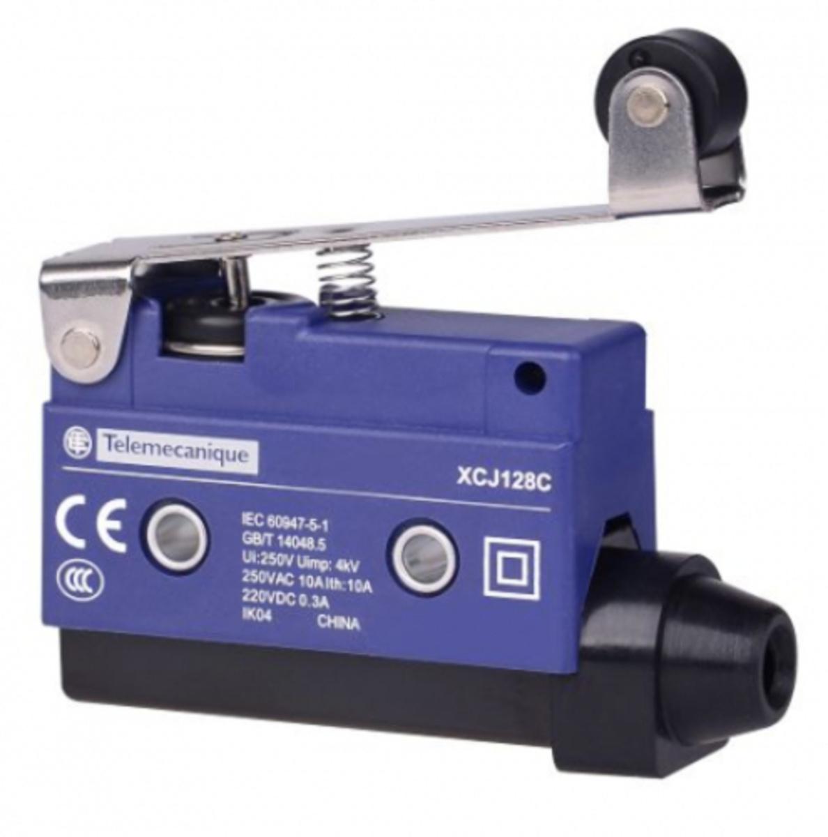 Eletriza - Eletriza Materiais Elétricos, Hidráulicos e Automação Industrial - FIM DE CURSO MINIATURA HASTE LONGA ROLD XCJ128 TELEMECANIQUE
