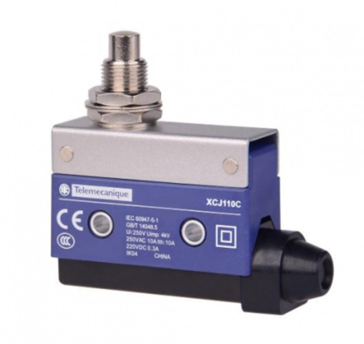 Eletriza - Eletriza Materiais Elétricos, Hidráulicos e Automação Industrial - FIM DE CURSO MINIATURA PISTAO METALICO XCJ110 TELEMECANIQUE