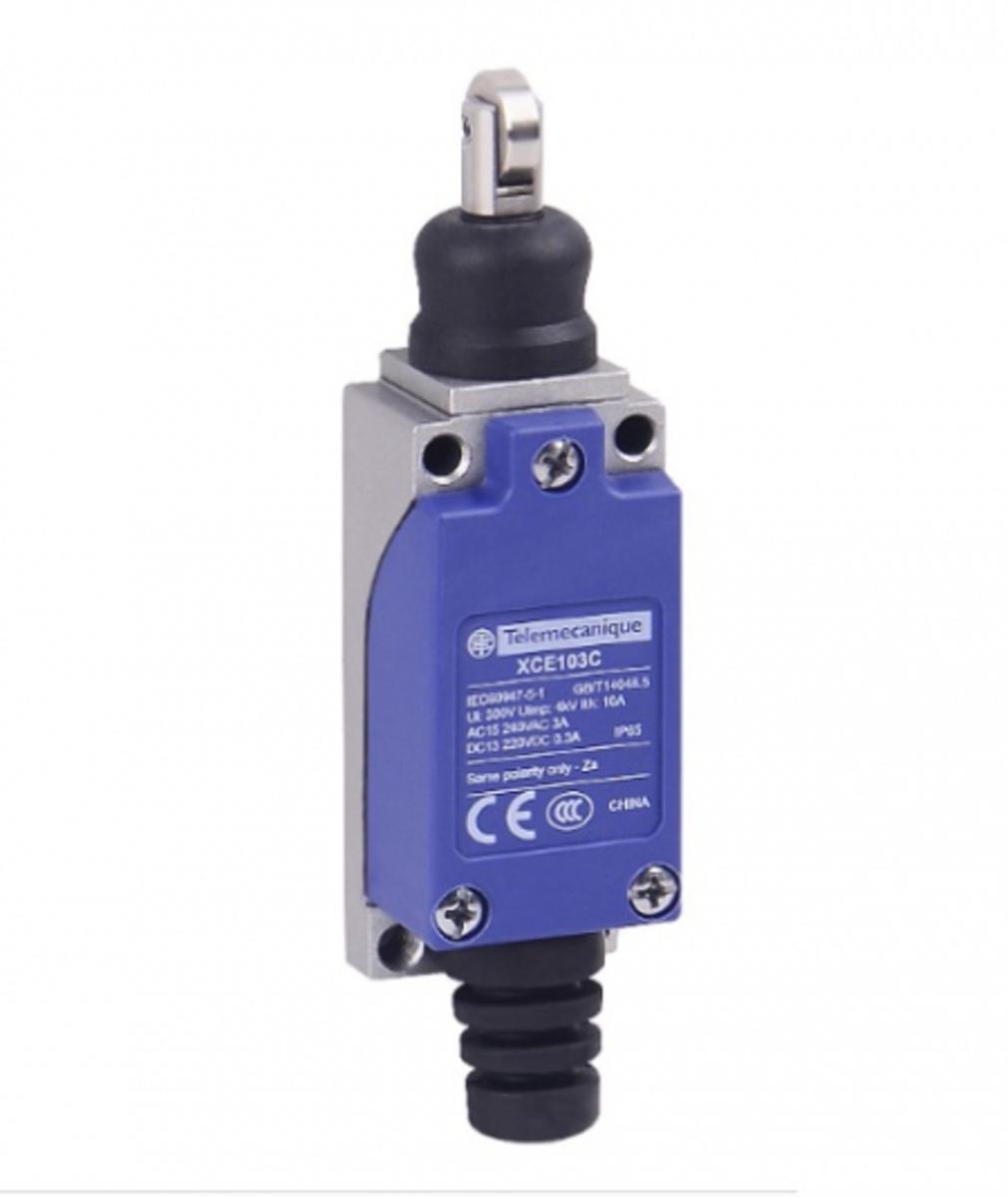 Eletriza - Eletriza Materiais Elétricos, Hidráulicos e Automação Industrial - FIM DE CURSO BASICO MET PISTAO C ROLDANA XCE103 TELEMECANIQUE