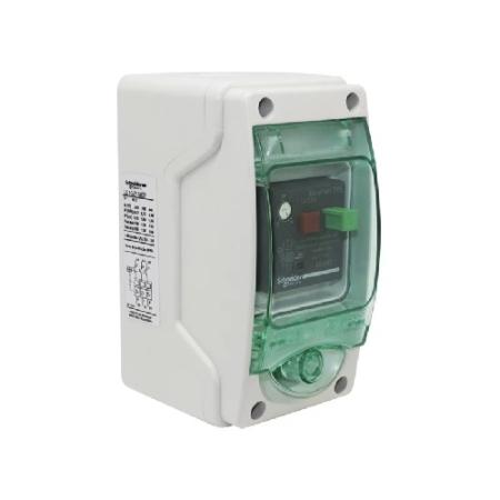 CHAVE DE PARTIDA DIRETA MANUAL EM COFRE IP65 220V REGULAGEM  13-18A LE1GZ1M20 SCHNEIDER