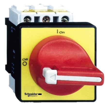 CHAVE SECCIONADORA 3P 40A  1X60° LIGA-DESLIGA 0-1 VM/AM VCD2 SCHNEIDER