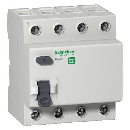 Eletriza - Eletriza Materiais Elétricos, Hidráulicos e Automação Industrial - INTERRUPTOR DIFERENCIAL RESIDUAL DR 4P 40A 300MA EASY94 EZ9R66440 SCHNEIDER