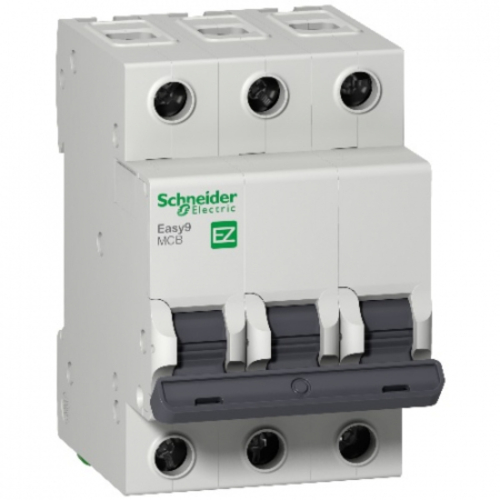 Eletriza - Eletriza Materiais Elétricos, Hidráulicos e Automação Industrial - MINI DISJUNTOR EASY9 3P 20A 3KA CURVA C EZ9F33320 SCHNEIDER