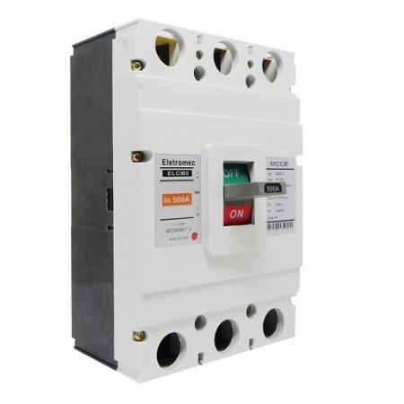 DISJUNTOR 3P 500A 35KA ELCM5-C3500 EATON / ELETROMEC