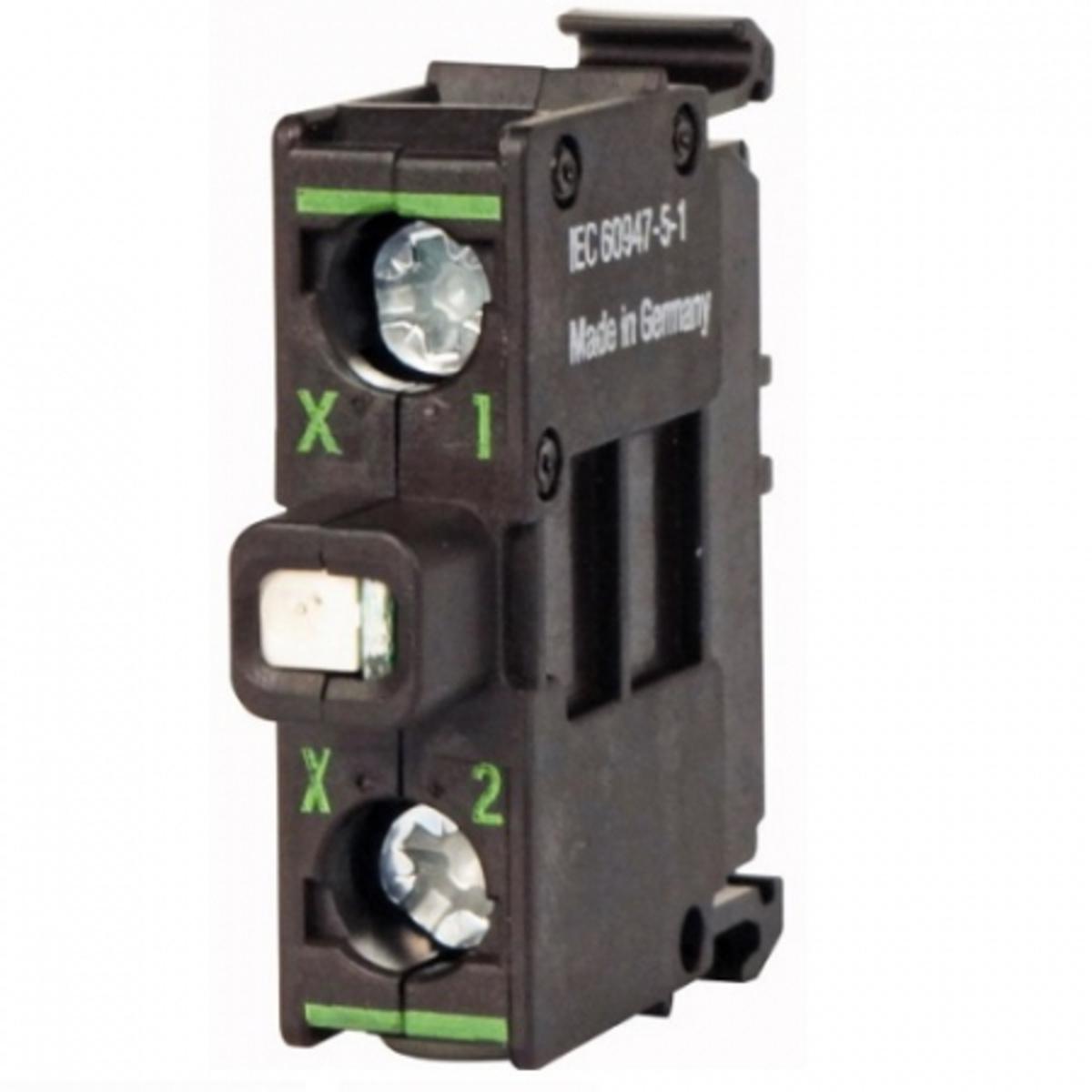 Eletriza - Eletriza Materiais Elétricos, Hidráulicos e Automação Industrial - SINALIZADOR LED 24V VERDE M22-LEDC-G EATON