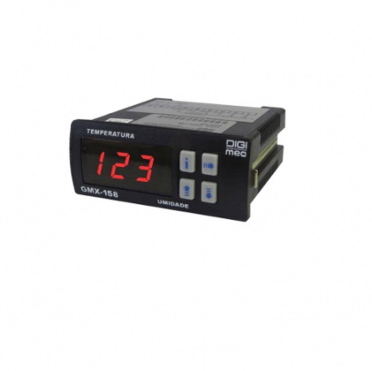CONTROLADOR DE TEMPERATURA E UMIDADE  SMX158 220V DIGIMEC
