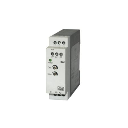 CONVERSOR E MONITOR DE SINAL PT-100 PARA 4-20MA  24VDC DDA6232P DIGIMEC