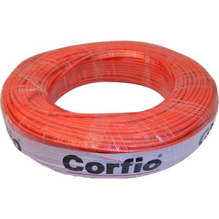 CABO FLEXÍVEL 1,5mm² 750V VERMELHO ROLO 100 METROS CORFIO