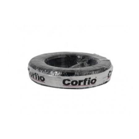 CABO FLEXIVEL CORFITOX 10,0mm² 750V PRETO COM 100 METROS CORFIO