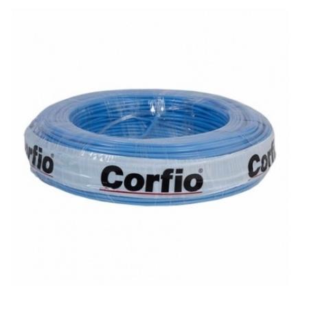 CABO FLEXÍVEL CORFITOX  4,0mm² 750V AZUL ROLO 100 METROS CORFIO