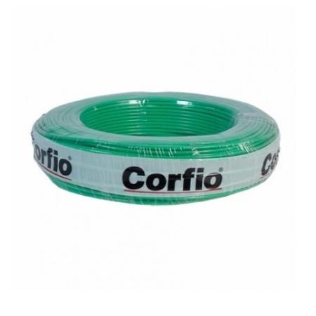 CABO FLEXÍVEL CORFITOX 4,0mm² 750V VERDE ROLO 100 METROS CORFIO