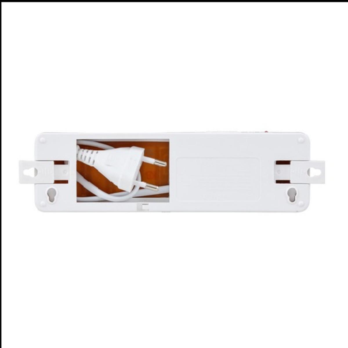 LUMINARIA DE EMERGENCIA  LED 30 LED (S)   - Iluminação Emergência autônoma 30 Leds Lítio Slim