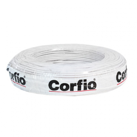 CABO FLEXÍVEL 4,0mm² 750V BRANCO CORFIO