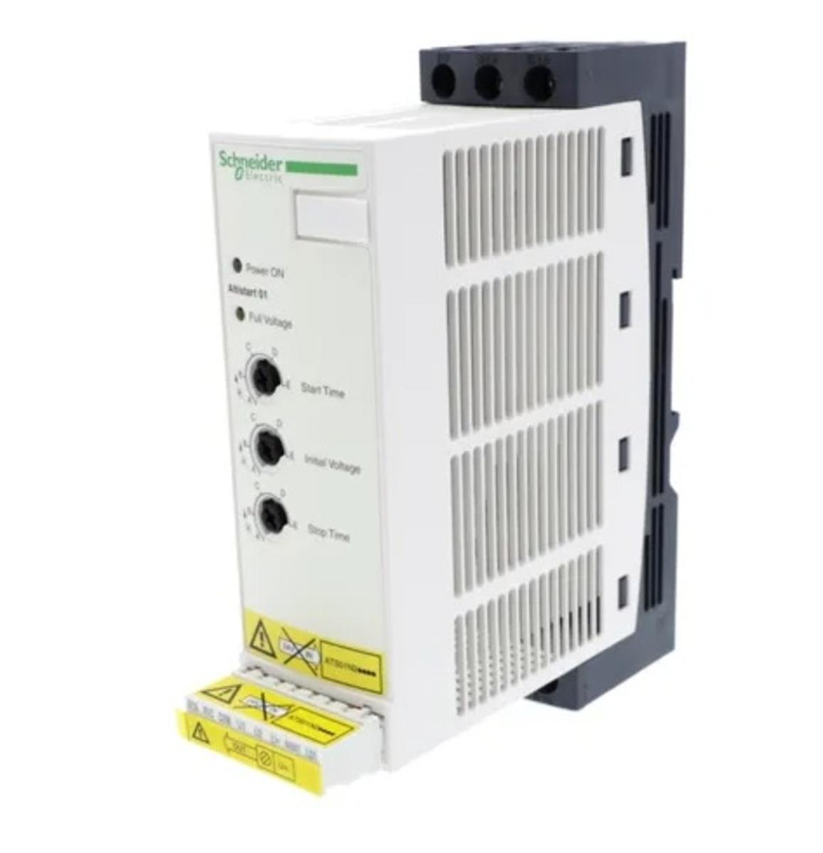 ATS01N222QN PARTIDA SUAVE SOFT START MICROPROCESSADO 22 A - 380-415 VAC SCHNEIDER