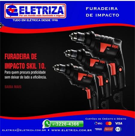 FURADEIRA DE IMPACTO Skil 10 6602 127v F012.660.0AB-000 - Bosch  2 VELOCIDADES