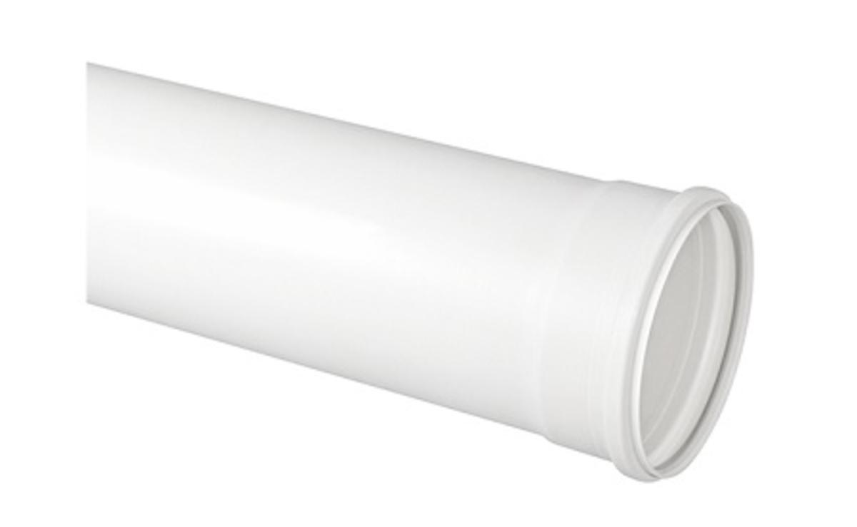 TUBO ESGOTO 150mm - 6 METROS BRANCO KRONA