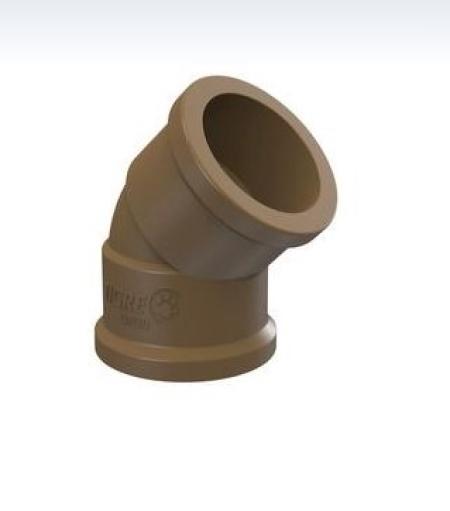 JOELHO 45° SOLDÁVEL 50mm TIGRE