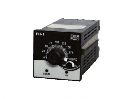CONTROLADOR DE TEMPERATURA 50/450ºC TIPO J FH-1 220V DIGIMEC