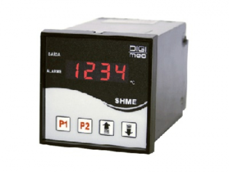 CONTROLADOR DE TEMPERATURA 750°C SHME-212 220V DIGIMEC