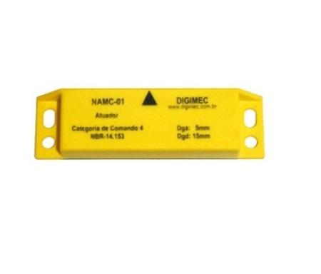 ATUADOR MAGNETICO CODIFICADO CATEGORIA DE COMANDO 4 NAMC-01 DIGIMEC