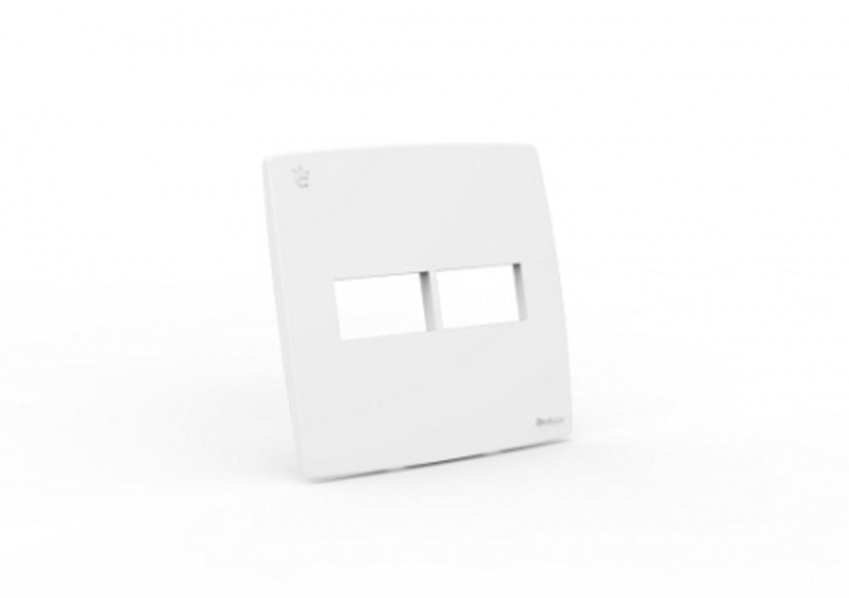 PLACA ESPELHO 4x4 1+1 MÓDULOS REALE 712-E4 ENERBRAS