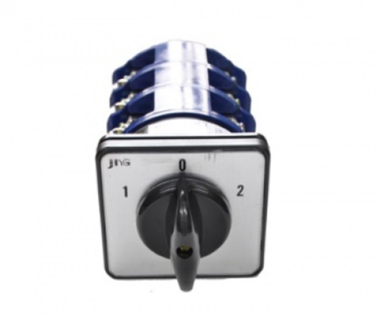 Eletriza - Eletriza Materiais Elétricos, Hidráulicos e Automação Industrial - CHAVE ROTATIVA DE TRANSFERÊNCIA 3P 32A 1-0-2 LW26-32 D01050/4 JNG
