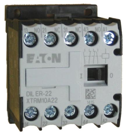 CONTATOR AUXILIAR 2NA + 2NF 24V DILER-22(24V50/60HZ) EATON