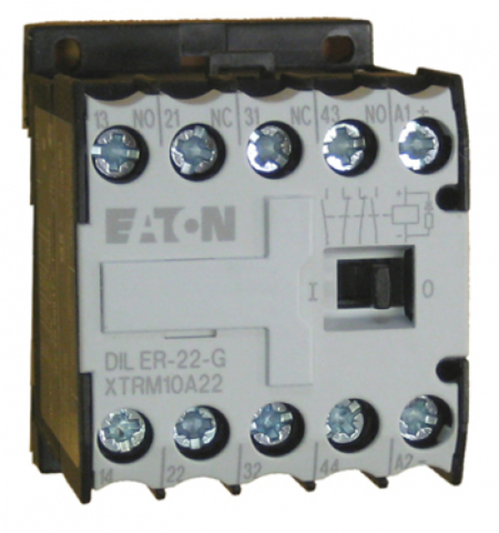 CONTATOR AUXILIAR 2NA + 2NF 24VDC DILER-22-G(24VDC) EATON