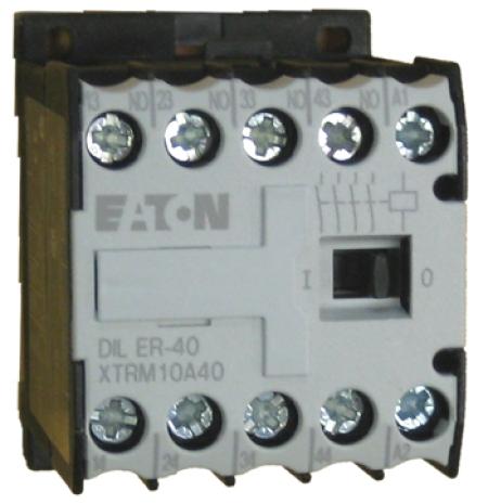 CONTATOR AUXILIAR 4NA 24V DILER-40(24V50/60HZ) EATON