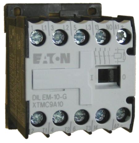CONTATOR 3P 9A 1NA 110VDC DILEM-10-G(110VDC) EATON