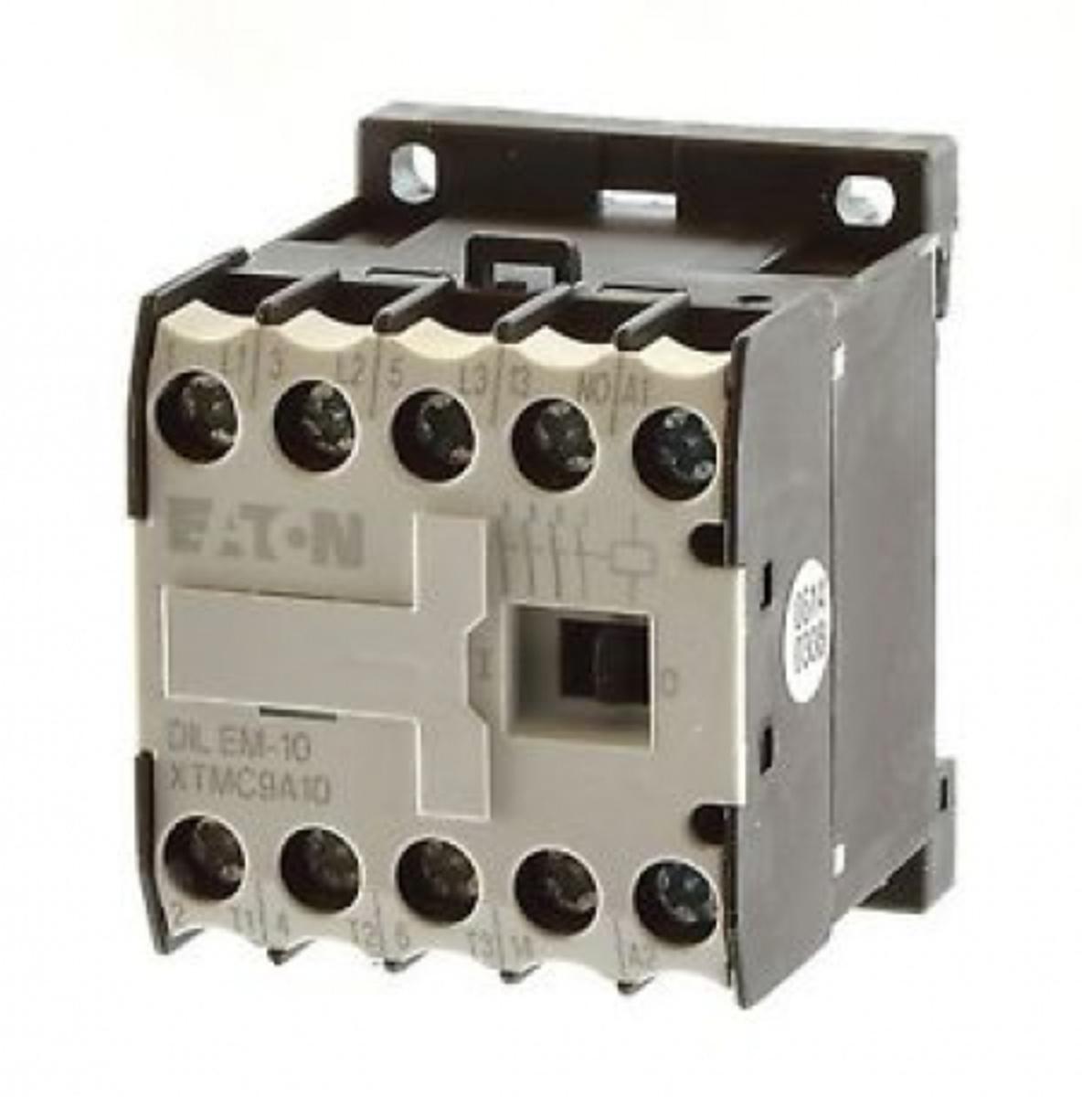 CONTATOR 3P 9A 1NA 380V DILEM-10(380V50HZ,440V60HZ) EATON