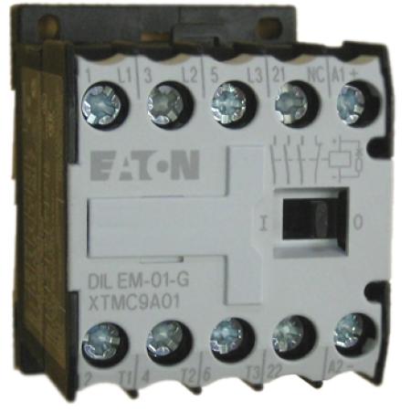 CONTATOR 3P 9A 1NF 110V DILEM-01(110V50/60HZ) EATON