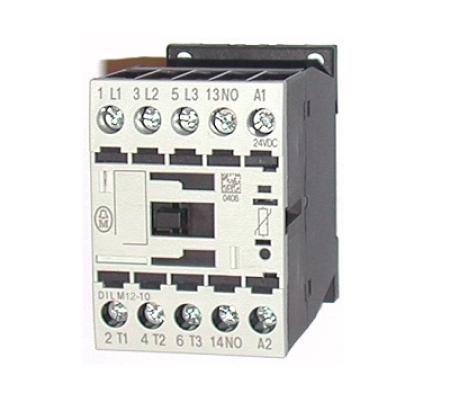 CONTATOR 3P 12A 24VDC 1NA DILM12-10 (24VDC) EATON