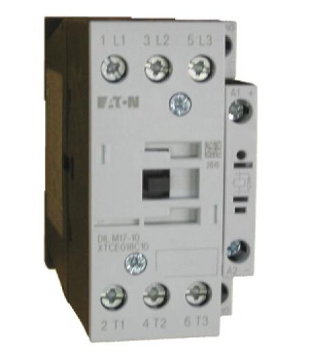 CONTATOR 3P 18A 1NA 24VDC DILM17-10(24 VDC) EATON