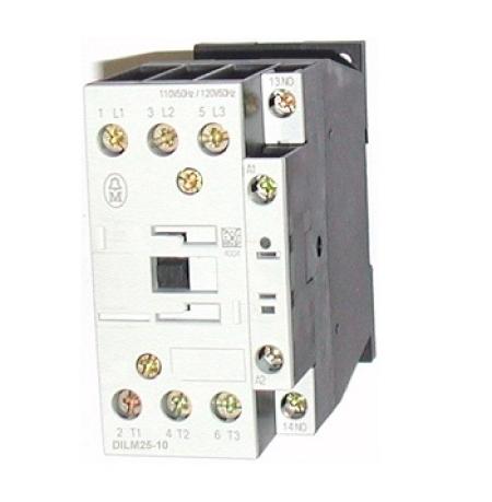 CONTATOR 3P 25A 1NA 130VDC DILM25-10(RDC130) EATON