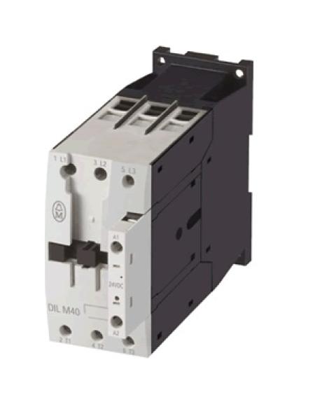 CONTATOR 3P 50A 24VDC SEM AUXILIAR DILM50(RDC24) EATON