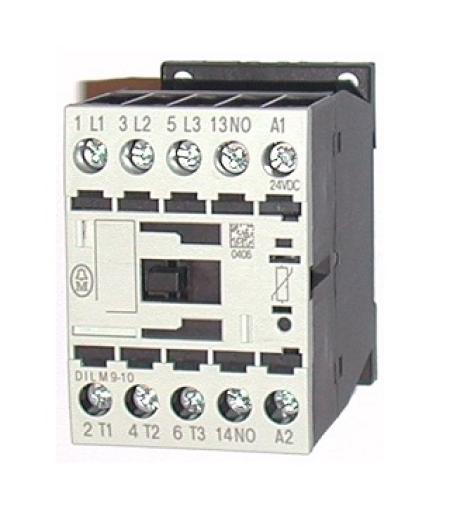 CONTATOR 3P 9A 1NA 24VDC DILM9-10(24VDC) EATON
