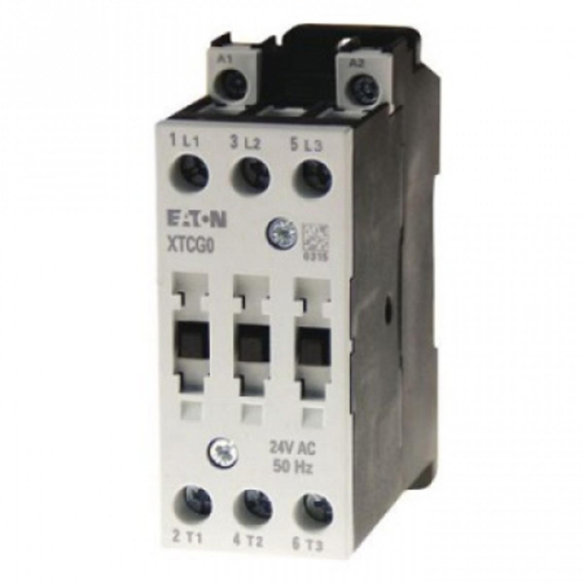 CONTATOR 3P 25A  24VDC SEM AUXILIAR XTCG025C00B0 EATON