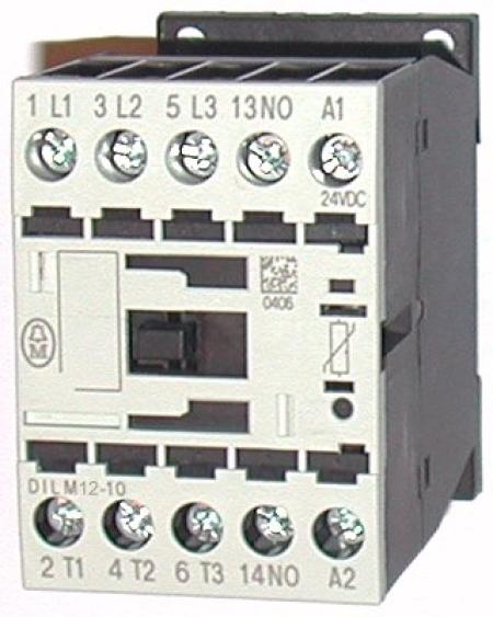 CONTATOR 3P 12A 110V 1NA DILM12-10(110V 50/60HZ) EATON