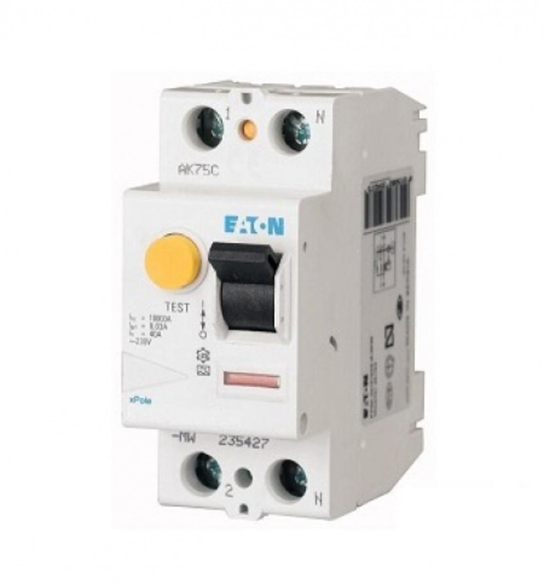 MINI DISJUNTOR  COM DR 1P+N  32A 30MA CURVA C mRBM-32/1N/C/003 EATON