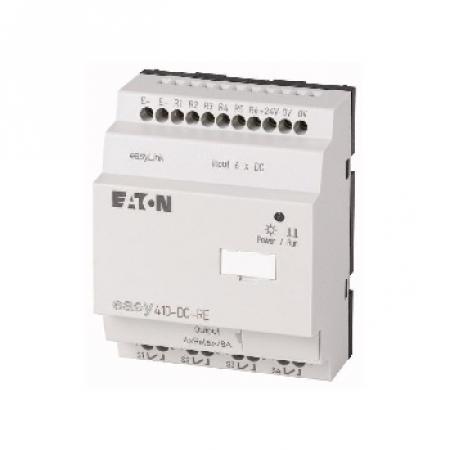 Eletriza - Eletriza Materiais Elétricos, Hidráulicos e Automação Industrial - RELÉ INTELIGENTE 8E/4S SEM DISPLAY EASY512-AC-RCX EATON