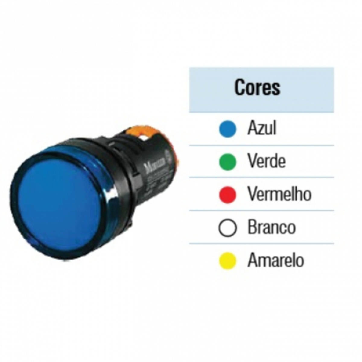 SINALIZADOR LED VERDE A22-LCLED24-G EATON