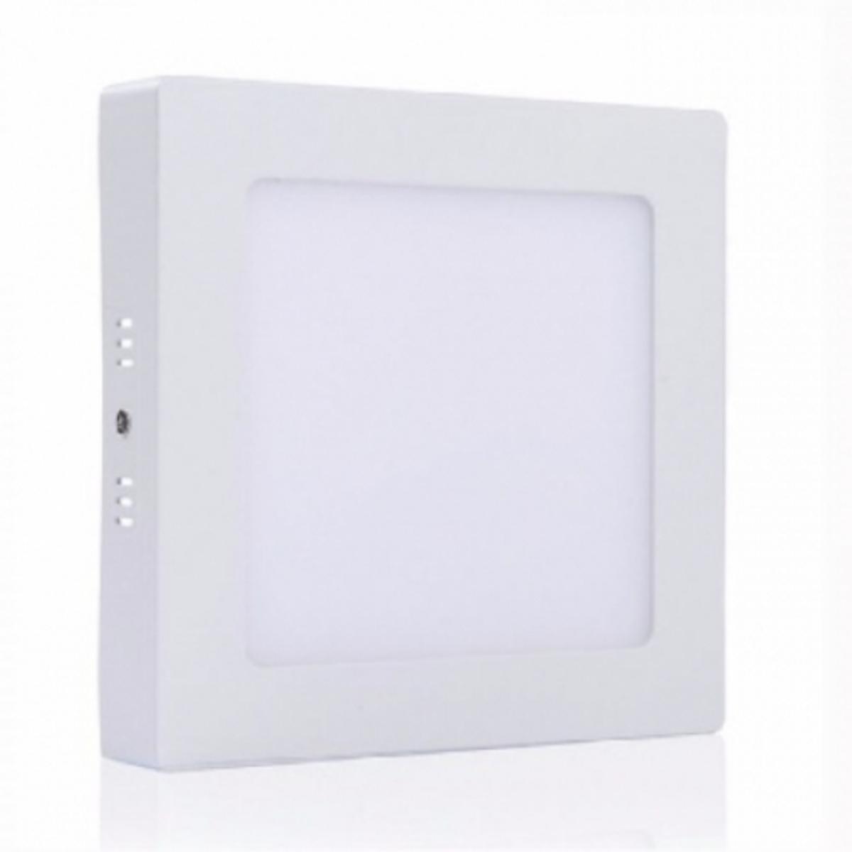 Eletriza - Eletriza Materiais Elétricos, Hidráulicos e Automação Industrial - LUMINÁRIA DE LED QUADRADA DE SOBREPOR 12W 6500K